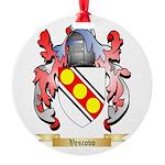 Vescovo Round Ornament