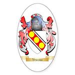 Vescovo Sticker (Oval)