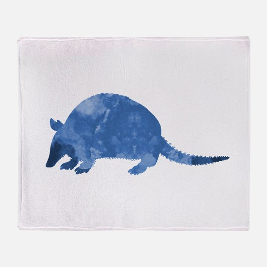 Armadillo Throw Blanket