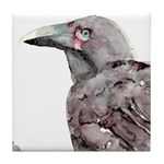 Alala - Hawaiian Crow Tile Coaster