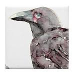 Alala - Hawaiian Crow Tile Coaster