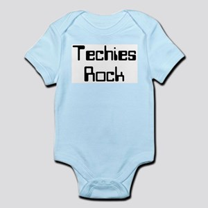 Techies Rock Infant Bodysuit
