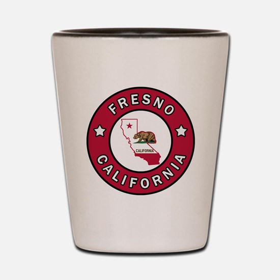 Cute California the golden state Shot Glass