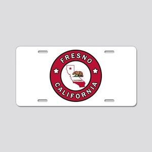 Fresno Aluminum License Plate