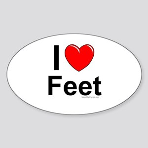 Feet Sticker (Oval)