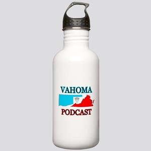 VAHOMA Podcast Logo Stainless Water Bottle 1.0L