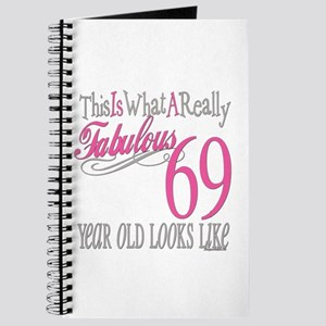 69th Birthday Gifts Journal