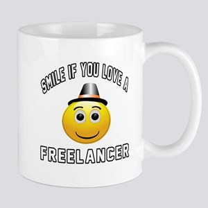 Smile If You Love Freelancer Mug
