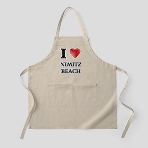 I love Nimitz Beach Guam Apron