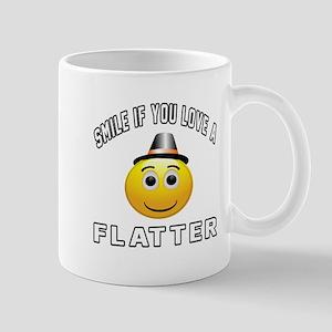Smile If You Love Flatter Mug