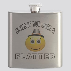 Smile If You Love Flatter Flask