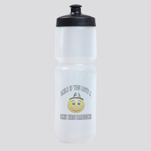 Smile If You Love Family Nurse Pract Sports Bottle