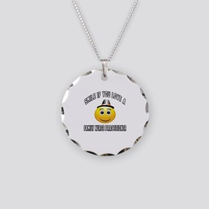 Smile If You Love Family Nur Necklace Circle Charm