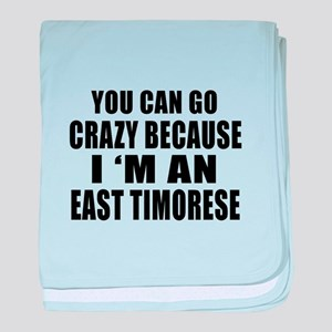 East Timorese Designs baby blanket