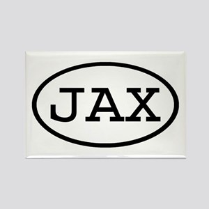JAX Oval Rectangle Magnet