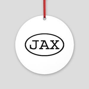JAX Oval Ornament (Round)