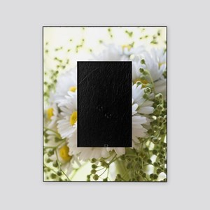 Bouquet of daisies in LOVE Picture Frame