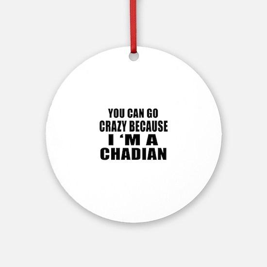 Chadian Designs Round Ornament
