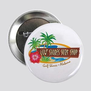 "Gulf Shores Surf Shop - 2.25"" Button"