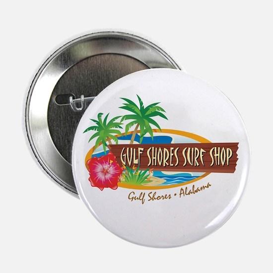"Gulf Shores Surf Shop - 2.25"" Button"