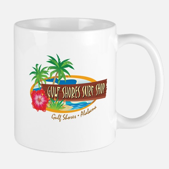 Gulf Shores Surf Shop -  Mug