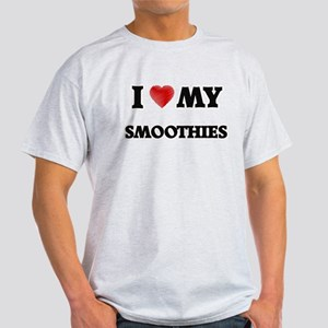 I Love My Smoothies food design T-Shirt