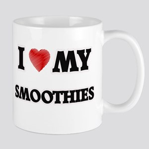 I Love My Smoothies food design Mugs