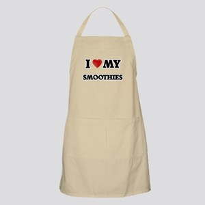 I Love My Smoothies food design Apron