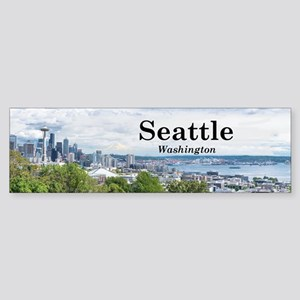 Seattle Sticker (Bumper)