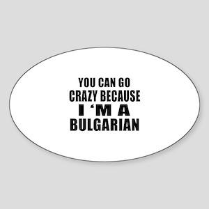 Bulgarian Designs Sticker (Oval)