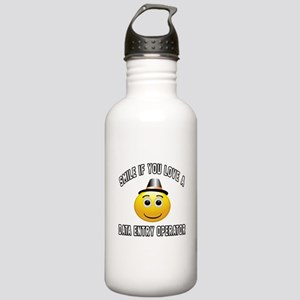 Smile If You Love Data Stainless Water Bottle 1.0L