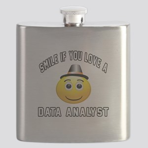 Smile If You Love Data analyst Flask