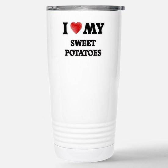 I Love My Sweet Potatoe Stainless Steel Travel Mug