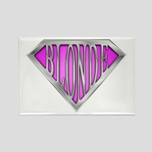 SuperBlonde(pink) Rectangle Magnet