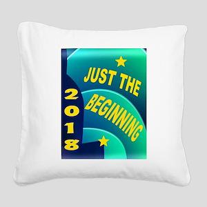 2018 Square Canvas Pillow