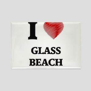I love Glass Beach Hawaii Magnets