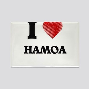 I love Hamoa Hawaii Magnets