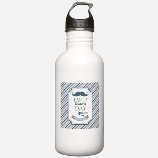 Happy Father's Day Water Bottle