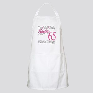 65th Birthday Gifts BBQ Apron