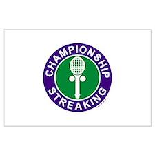 Championship Streaking Large Poster