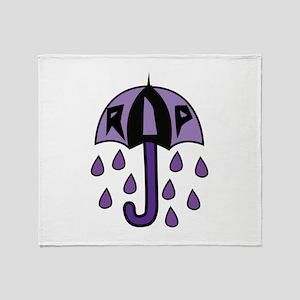 RIP Umbrella Throw Blanket