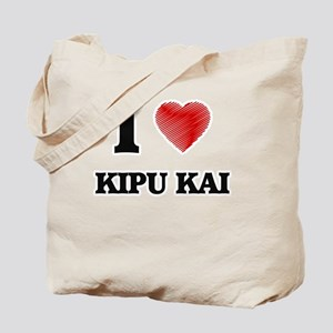 I love Kipu Kai Hawaii Tote Bag