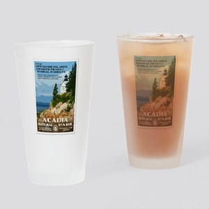 Acadia National Park Drinking Glass