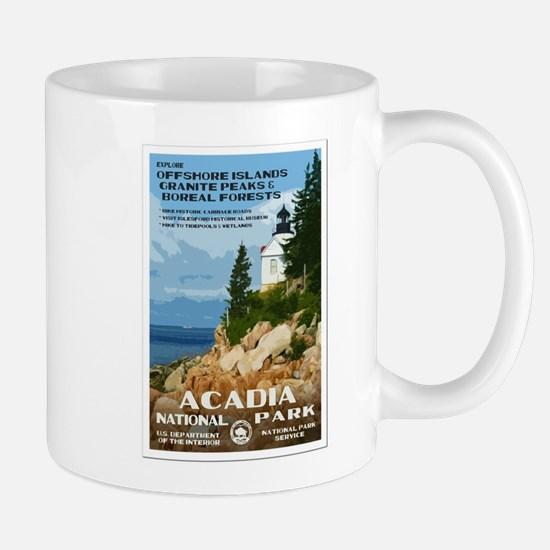 Acadia National Park Mugs