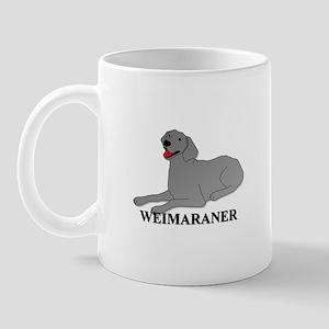 Cartoon Weimaraner Mug