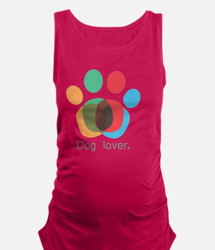 Cute Adopt dog Maternity Tank Top