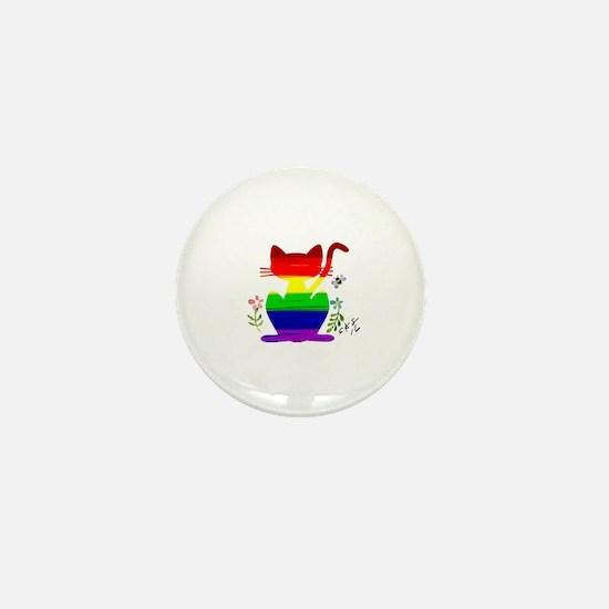 Unique Gay ally Mini Button