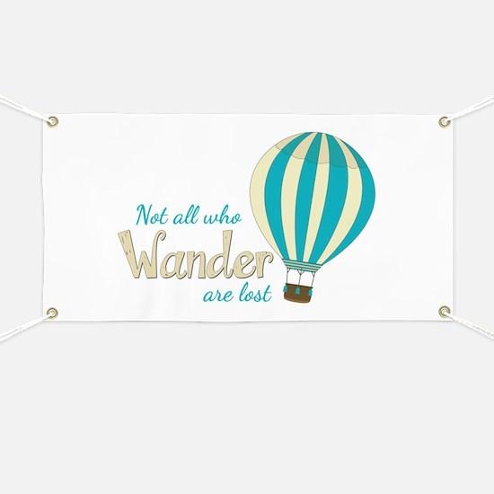 All Wander Banner