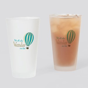 All Wander Drinking Glass
