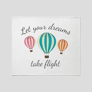 Take Flight Throw Blanket